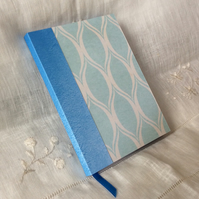 A6 Blue Handmade Notebook Journal