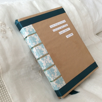 Handmade A5 Artist's Sketchbook with High Quality Pastel Paper