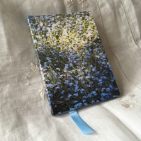 A6 Floral Photography Forget-Me-Not Notebook ONE-OF-A-KIND