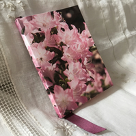 A6 Floral Photography Pink Azalea Notebook ONE-OF-A-KIND