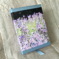A6 Floral Photography Camassia Blue Heaven Notebook ONE-OF-A-KIND
