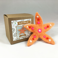 Starfish - Needle Felting Kit