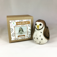 Spotty Owl - Needle Felting Kit