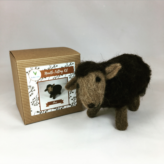 Sheep - Needle Felting Kit