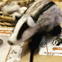Badger - Needle Felting Kit