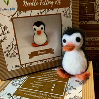 Penguin - Needle Felting Kit