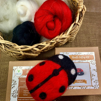 Ladybird - Needle Felting Kit
