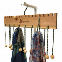 Hangersmith Hanger - Multi use hanger: Scarves, Tote Bags, Necklaces, Ties &more