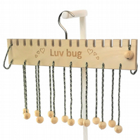 PERSONALISED Hangersmith Storage Hanger for Scarves, Belts, Bags, Caps