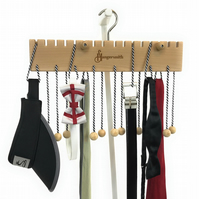Premium Hangersmith Hanger for Scarves, Tote Bags, Necklaces, Ties, Belts & more