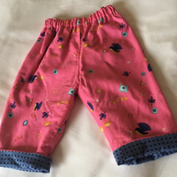 Reversible trousers