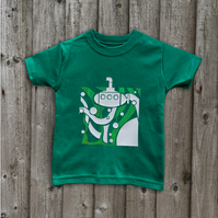 SUBMARINE Glow in the dark children's t shirt