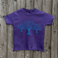 PLANT TREES Kids T shirt 7 colours Age 1 - 6 yrs