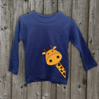 GIRAFFE Long sleeve T shirt
