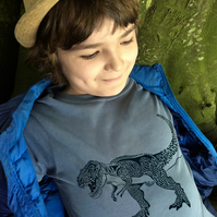 T REX Long sleeve top for kids