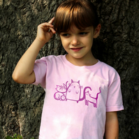 4 CATS T shirt for kids