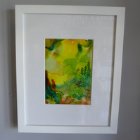 Yellow Glade (Framed)