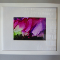 Northern Lights 1 (Framed) Painting