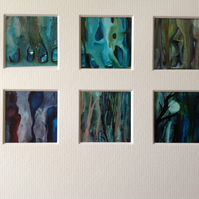 Enchanted Forest Ink Paintings