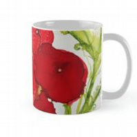 Big,Bold, Eye-popping Poppy Mug