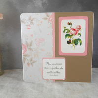 Rose Card, Matisse Quote Card, Flower Card