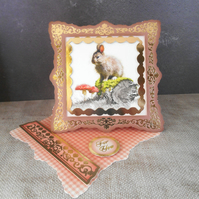 Wild Rabbit Card, Dwarf Rabbit Card