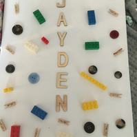 LEGO CANVAS PERSONALISED