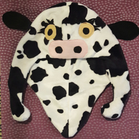 Cow novelty hat, Halloween, fancy dress, adult accessories