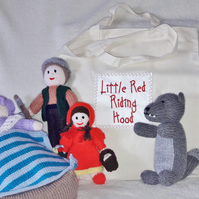 Red Riding Hood Fairy Tale Soft Toy Playset