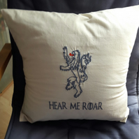 House Lannister Game of Thrones inspired cushion cover