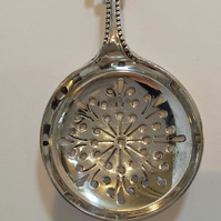 White metal pendant