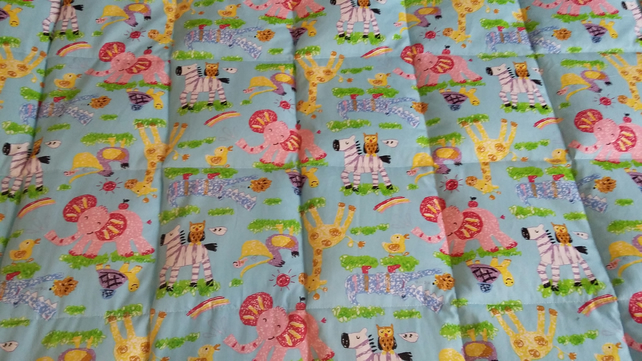 "4 - 8Ib Weighted quilt blanket 38"" by 41"""