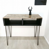 Man Cave Reclaimed Timber Entryway Table TURVAS Sideboard Bar Table