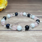 Stress Relief Bracelet - Aquamarine, Rose Quartz, Tiger Eye