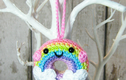 Crochet danglies , decorations and bag charms