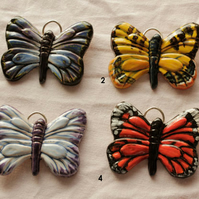 ceramic butterfly