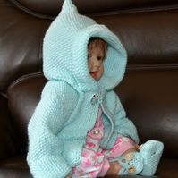 Baby's Hooded cardigan