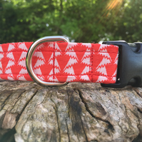 Liberty Red and White Side Release Collar