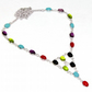 Multi Gemstone 925 Sterling Silver Necklace For Women