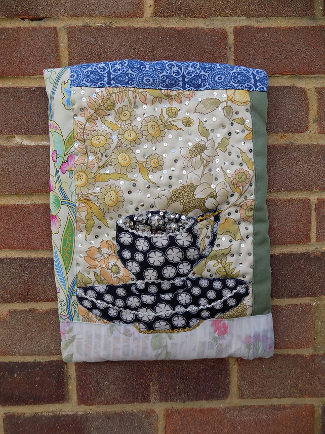 A3 TEXTILE ART - TEA CUPS