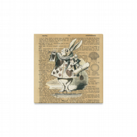 Beautiful Classic Alice In Wonderland Canvas Art