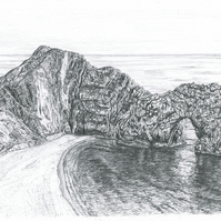 Durdle Door Signed and Numbered Print