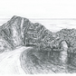 Original Drawing of Durdle Door