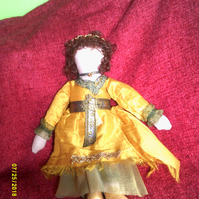 Medieval Lady Art Doll