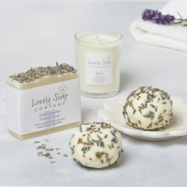 Personalised Relaxing Aromatherapy Pamper Gift Set