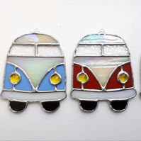 Stained glass campervan suncatcher