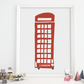 London print, London telephone cabin, London telephone box, Cute art print
