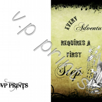 alice in wonderland adventure card