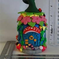 Fairy House  - Night Light (battery operated tea light)