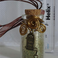 New Home - Medium Fairy Spell Bottle